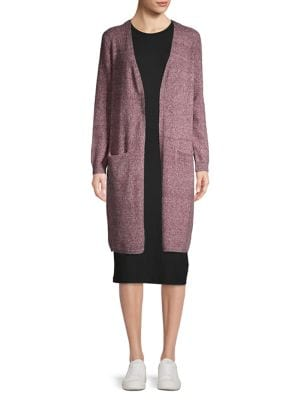 Image of Knit Open-Front Cardigan
