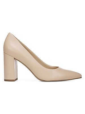 Palma Leather Pumps by Franco Sarto