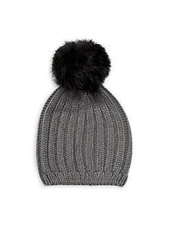 Nike Damen Mütze Chunky Knit WPom Stripe