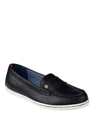 Butter Leather Loafers by Tommy Hilfiger