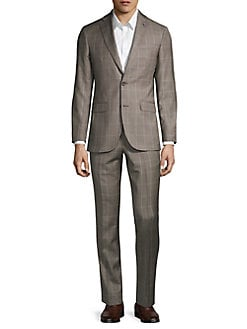 PJ PAUL JONES Mens 2 Piece Slim Fit Suits 2 Button Front Blazer Jacket /& Pant