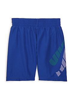 Nike Baby Boys 2 Piece Just Do It Short Sleeve /& Shorts Set 5 Little Kids, Game Royal