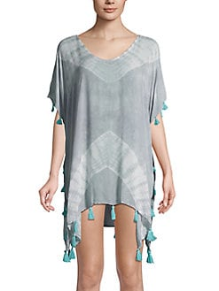 Jessica Simpson Womens Off The Shoulder Swim Cover-up