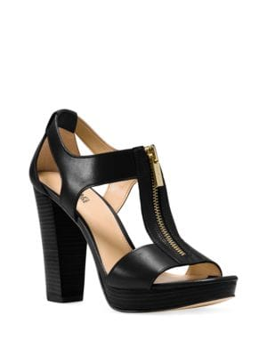 Berkley Platform Leather Sandals by MICHAEL MICHAEL KORS