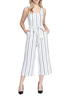 FACE N FACE Womens Lace Chiffon Sleeveless Jumpsuit Rompers
