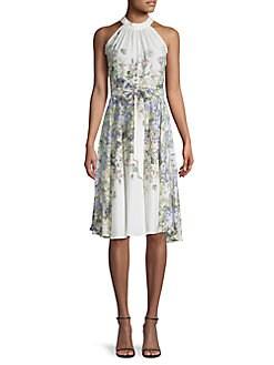 Choose SZ//Color Gabby Skye Women/'s Plus SZ Printed Shift Dress