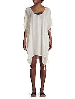 S,M,L NEON ORANGE GREEN WHITE CHEVRON MAXI DRESS//SWIMSUIT COVER UP