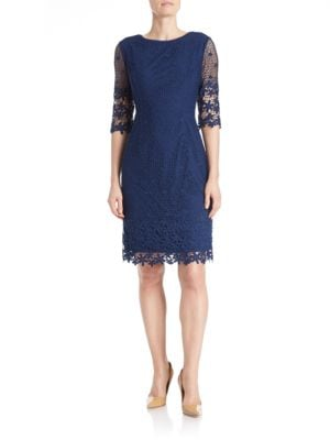 Lace Overlay Dress by Nue By Shani