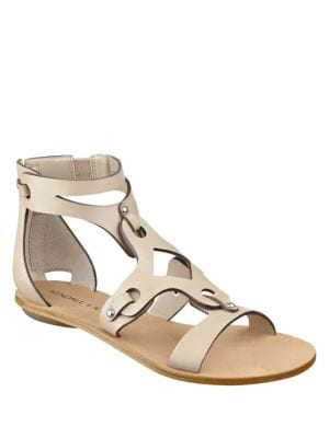 Fifi2 Leather Gladiator Sandals by KENDALL + KYLIE