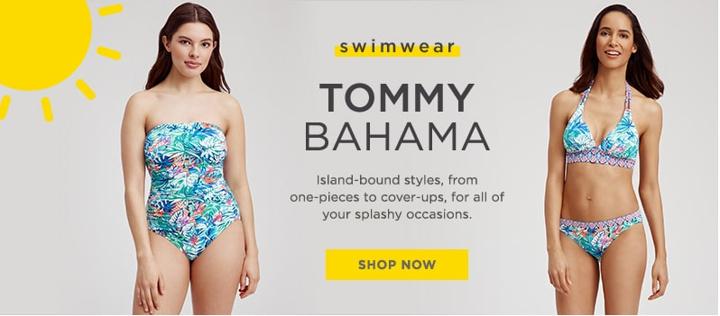 24c286fee154 Tommy Bahama blue and green multi-colored strapless one-piece swimsuit and  two-