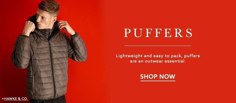 ed7673550a Hawkandco. brown puffer jacket at lordandtaylor.com. Calvin Klein men's  parka with fur trim hood ...