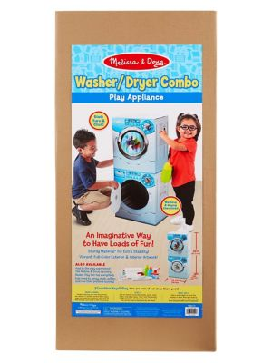Washer & Dryer Appliance Combo Play Set photo
