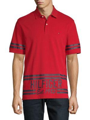 Tommy Hilfiger Chemises | Chemise à carreaux multicolores Haute Red Blue Quartz Multi Homme
