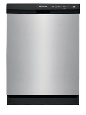 Frigidaire FFCD2413US 24 in. Built-In Front Control Tall Tub Dishwasher in Stainless Steel photo