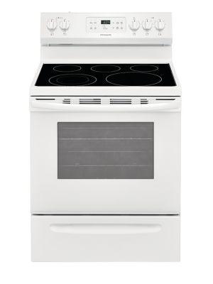 Frigidaire CFEF3054UW - Cuisinière électrique amovible de 76 cm (en blanc) photo