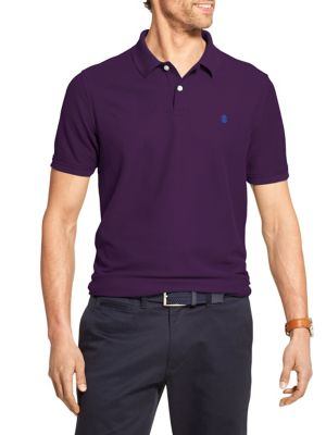 fbaca3e3 Product image. QUICK VIEW. Izod. Advantage Short-Sleeve Cotton Blend Polo