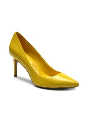 ff5289674b37 QUICK VIEW. Calvin Klein. Gayle Leather Stiletto Pumps