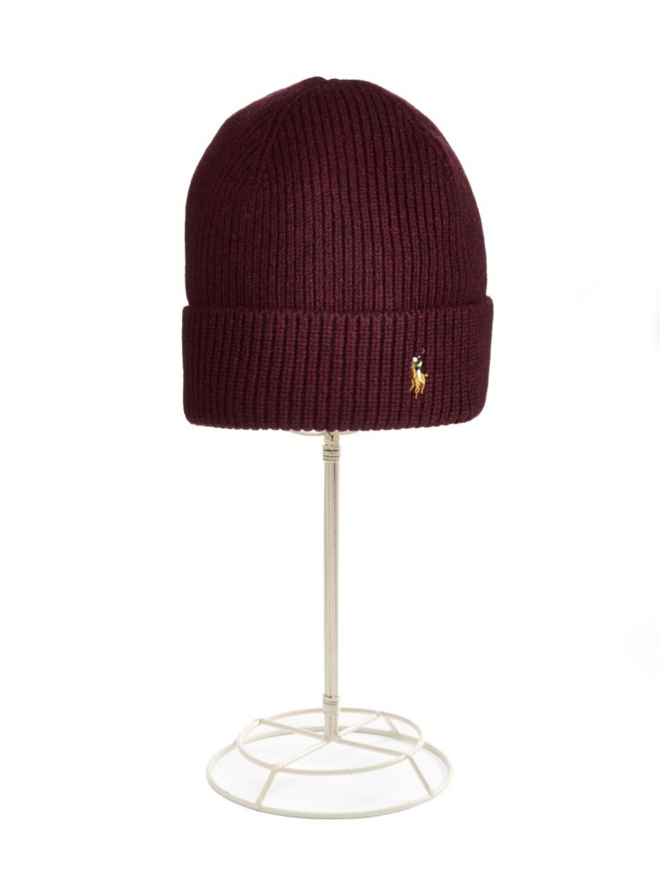 7f68c736a0a Polo Ralph Lauren - Signature Merino Cuff Hat - thebay.com