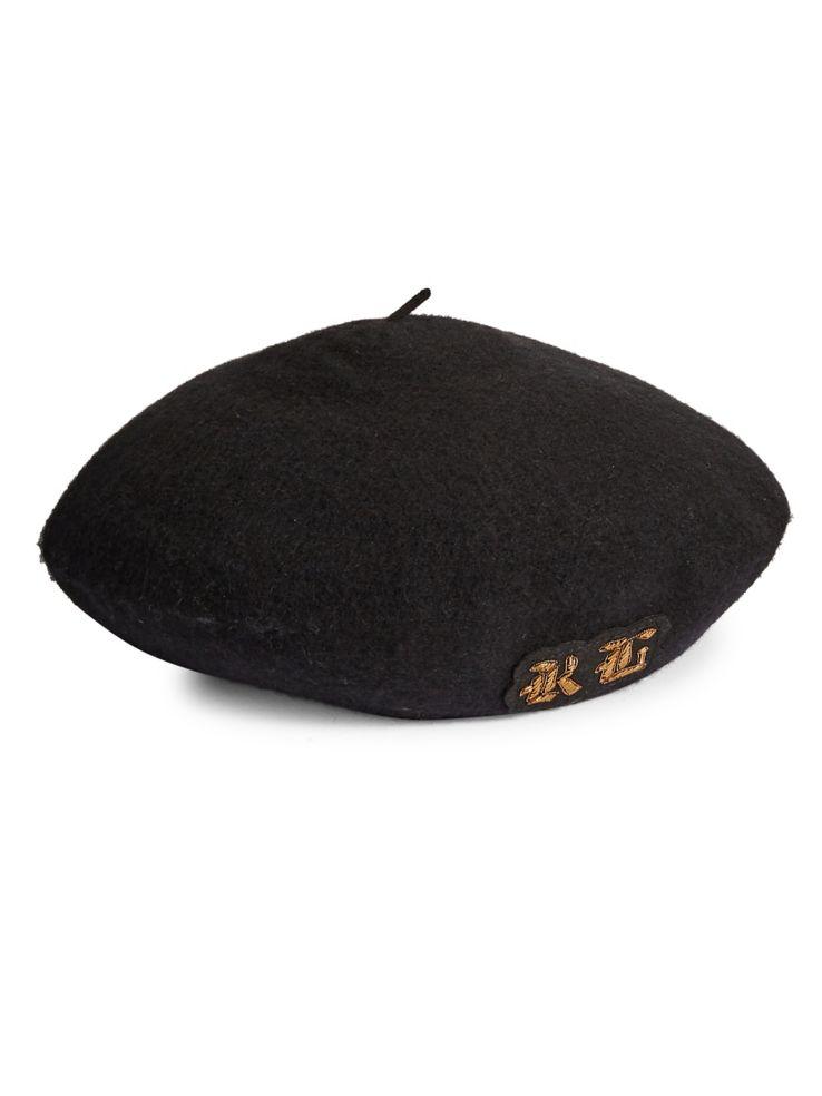 9f5616cb8 Polo Ralph Lauren - Classic Crest Wool Beret - thebay.com