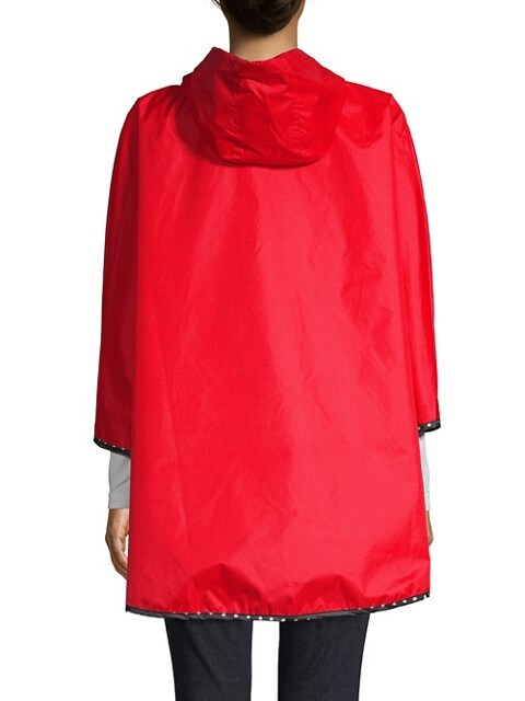 Totes Poncho classique compressible ROUGE