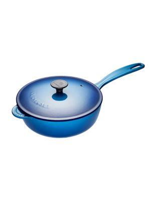 Covered 3.6 L Cast Iron Saute Pan by Le Creuset
