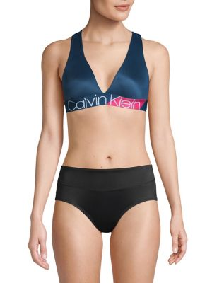3fb8165e2ee QUICK VIEW. Calvin Klein. Bold Accents Unlined Bralette