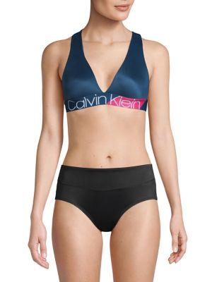 a1c17d1a6d98d QUICK VIEW. Calvin Klein. Bold Accents Unlined Bralette