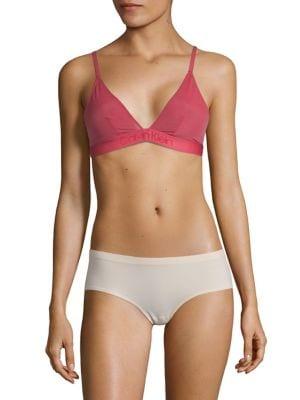 1bebbf7fdda QUICK VIEW. Calvin Klein. Mesh Tonal Logo Triangle Bra