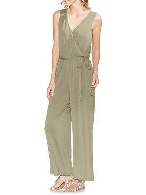 982693dbb60 QUICK VIEW. Vince Camuto. Sleeveless Faux Wrap Belted Jumpsuit