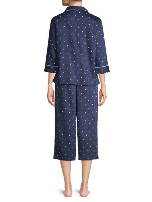 Lauren Lauren Ralph à pois Pyjama w8vn0ONm