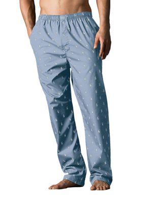 9e38c9bc77a Product image. QUICK VIEW. Polo Ralph Lauren. Printed Woven Pyjama Pants