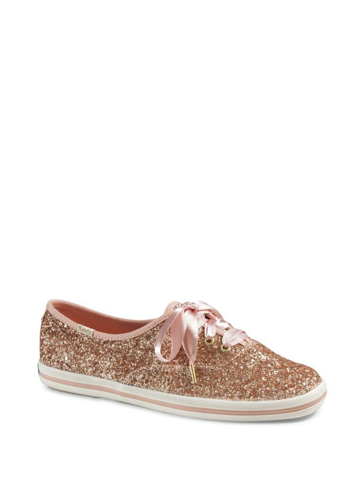 a3d9d33113b8 Keds - Keds x Kate Spade New York Bridal Canvas Lace-Up Sneakers ...
