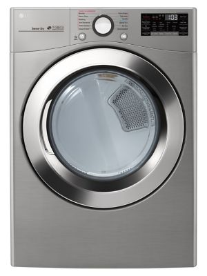 LG DLEX3700V 7.4 Cu. Ft. Ultra Large Capacity Electric Steam Dryer photo