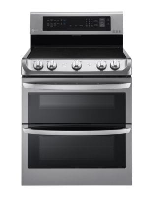 LDE4413ST 7.3 cu. ft. Electric Double Oven Range with ProBake Convection- Stainless Steel photo