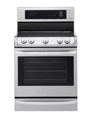 LRE4213ST 6.3 cu. ft. Electric Single Oven Range with ProBake Convection- Stainless Steel photo