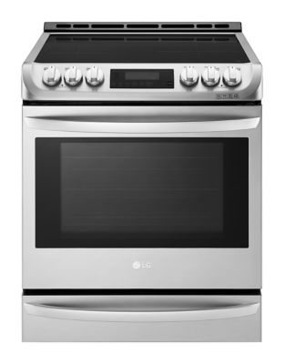 LSE4617ST - 6.3 cu. ft. Induction Slide in Range With ProBake Convection and EasyClean Stainless Steel photo