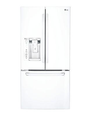 LFXS24623W 33 in. 24.2 cu. ft. French Door Refrigerator- White photo