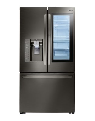 LFXC24796D - 36 In Counter Depth French Door Refrigerator with Instaview Door-in-Door, 24 cu. ft. Black Stainless Steel photo