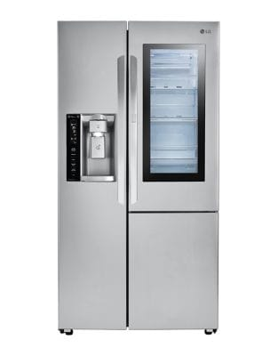 LSXC22396S - 36 In, Counter Depth InstaView Door-in-Door Side by Side refrigerator with Ice & Water Dispenser photo