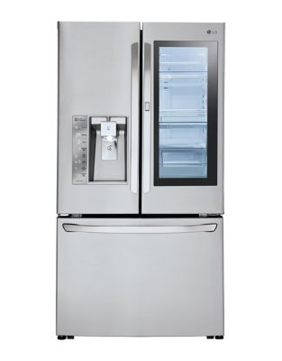LFXC24796S - 36 In Counter Depth French Door Refrigerator with Instaview Door-in-Door, 24 cu. ft. Stainless Steel photo
