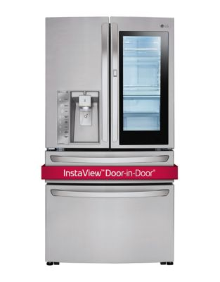 LMXC23796S - 23 cu. ft. French 4-Door Smart Refrigerator with InstaView Door-in-Door in Stainless Steel photo