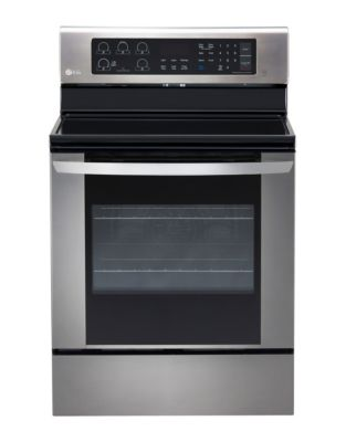 LRE3061ST 6.3 cu. ft. Electric Range with True Convection- Stainless Steel photo
