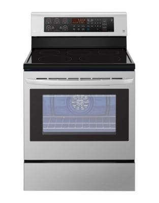 LRE3193ST 30-inch 6.3 Cu. Ft. Freestanding Smooth Top Electric Range - Stainless Steel photo