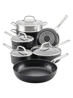 Hard-Anodized Nonstick 11-Piece Cookware Set photo