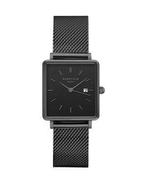 plus récent 100a0 1911a The Boxy Analogue Mesh Bracelet Watch