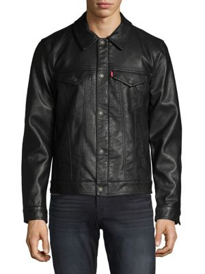0f32fbffd Men - Men's Clothing - Coats & Jackets - Leather & Suede Jackets ...