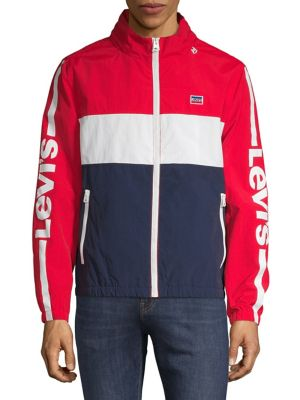 c50059904a8f Colourblock Full-Zip Jacket RED. QUICK VIEW. Product image