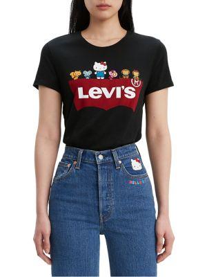 Levi's x Hello Kitty The Perfect Cotton Tee