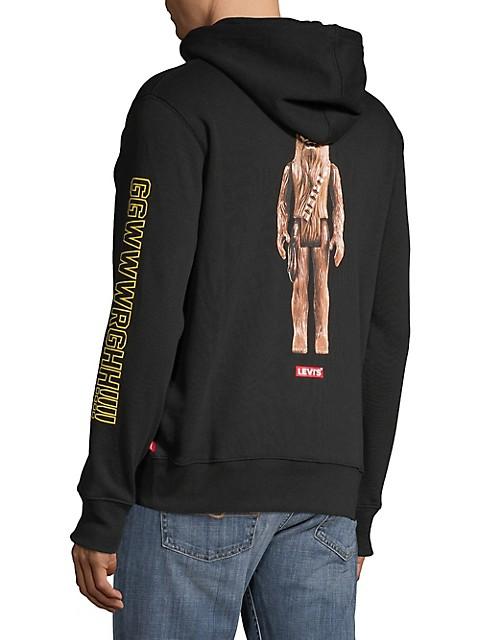 Star Wars Mens Chewbacca Socks Again Christmas Sweatshirt Sweat-Shirt Homme