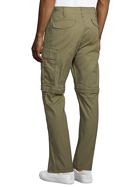 Levi S Slim Fit Lo Ball Zip Off Stretch Cotton Pants Mens Thebay